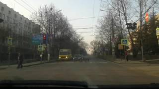 Симферополь. Собаки переходят дорогу