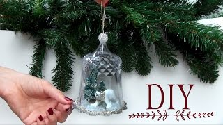 DIY Globe Christmas Ornament