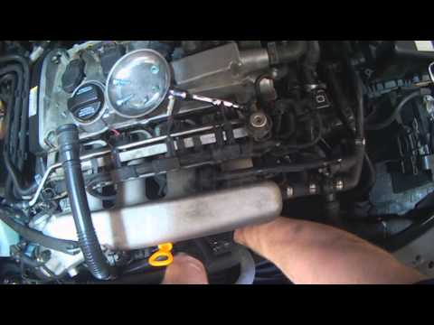 VW A4: 1.8T PCV components (removal for replacement)
