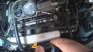 Vw A4: 1.8t Pcv Components  Removal For Replacement