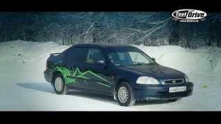 Honda Civic 1997 г.в. видео тест-драйв на bizovo.ru