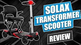 Solax Transformer Scooter Demo / Review Video