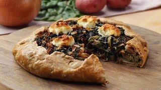 Loaded Savory Vegetable Crostata