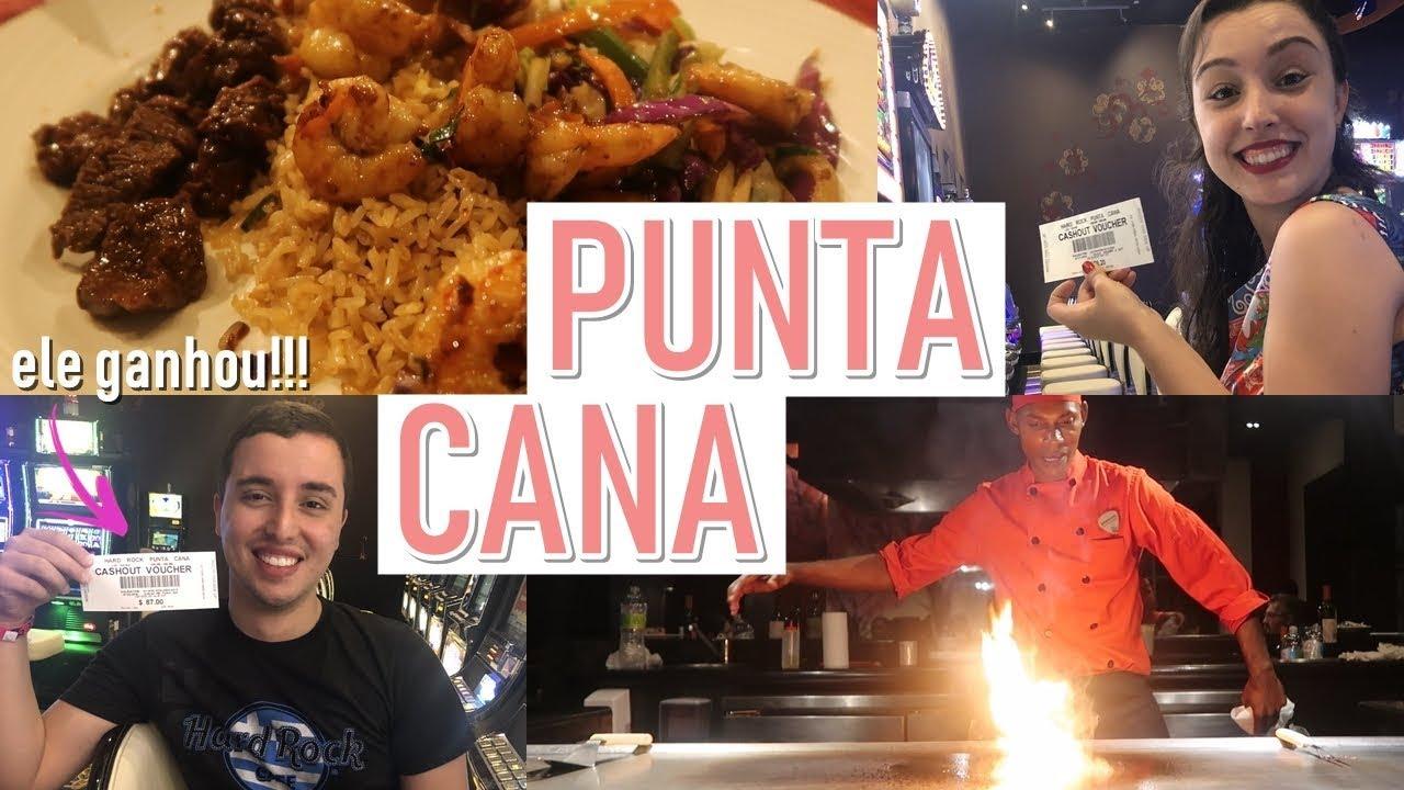 PUNTA CANA (Vlog parte 2) - FOMOS NO CASSINO, SHOW DE COMIDA ORIENTAL E O QUE NÃO GOSTAMOS...