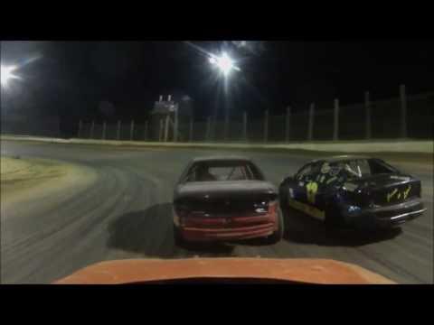 Moler Raceway Turkey Gobbler Compact Feature 11-12-16 View from #20 Ryan Barrett