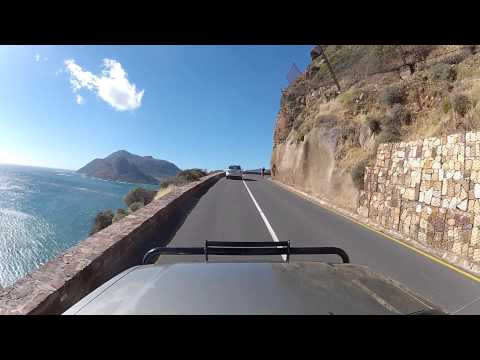 Driving around Cape Town - Chapman's Peak