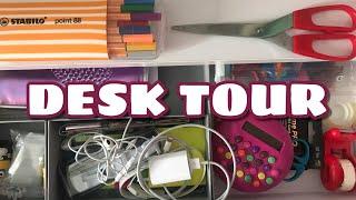 Desk Tour + DIY