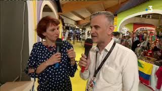 Le 12/13 en direct de la Foire Comtoise 2018 à Besançon