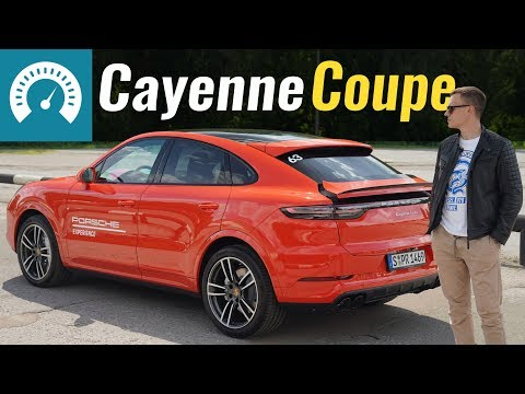 Porsche Cayenne Coupe 1-е поколение Кросовер