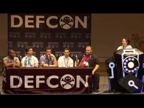 DEF CON 24 - Panel - MR ROBOT Panel