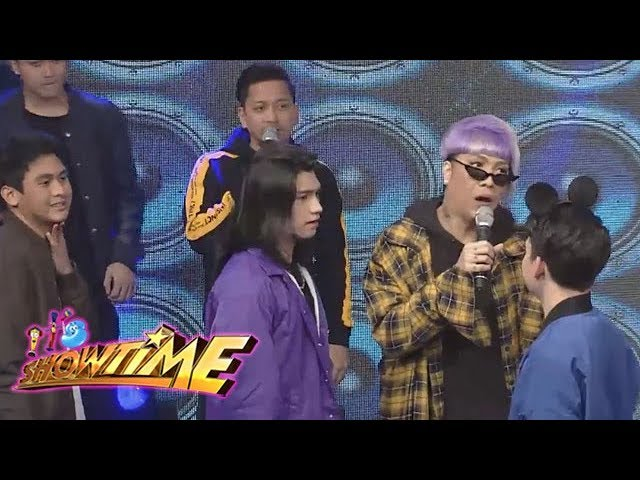 It's Showtime Copy-Cut: Vice Ganda protests in Copy-Cut