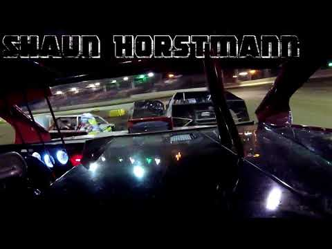 In Car Cam of Shaun Horstmann at Highland Speedway 8-4-18