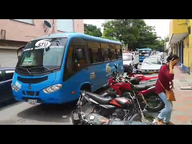Desvío de buses en zona céntrica por obras en box coulvert