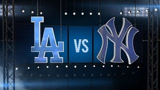 9/12/16: Home runs help Dodgers top Yankees, 8-2