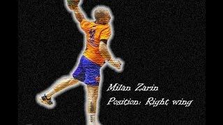 Milan Zarin - Serbian Handball player (Highlights)