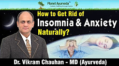 How to Get Rid of Insomnia & Anxiety Naturally?