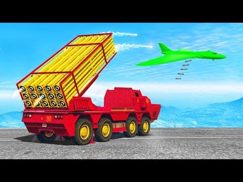 MASSIVE MISSILE LAUNCHER TRUCK! (GTA 5 Doomsday Heists DLC)
