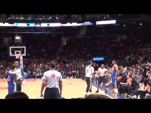 October 26, 2014 New York Knicks Tip- Off Scrimmage w/ Swizz Beatz and Nas's performances