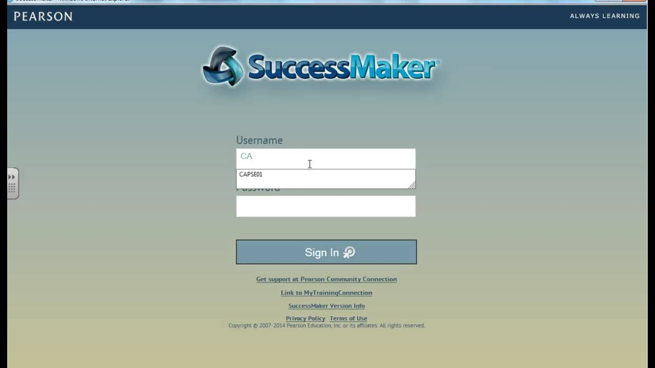 pearson successmaker Successmaker math,  (pearson digital learning,  effects of successmaker math on students with learning disabilities in inclusive and special education.