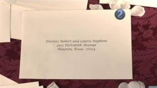 How To Send Wedding Invitation To Two Married Doctors