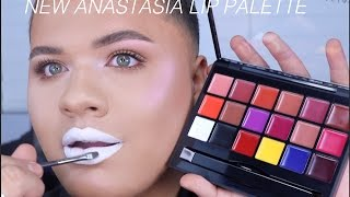 NEW Anastasia Beverly Hills Lip Palette!!! | Review & Demo