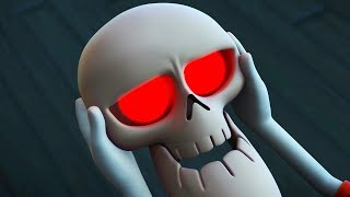 Spookiz | The Teacher's Skull | 스푸키즈 | Funny Cartoon | Kids Cartoons | Videos for Kids