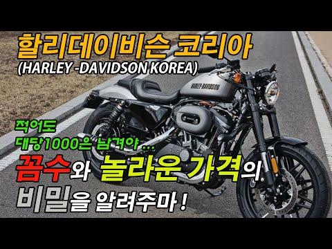 할리데이비슨코리아(HARLEY-DAVIDSON KOREA)의 인터넷 꼼수와 해도해도 너무하는 가격의 비밀을 알려주마! #한국라이더는호갱 #눈탱이의신 #미제라면양잿물도마시지