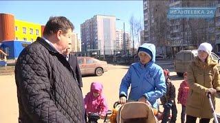 Глава Ивантеевки пообещал довести до ума сквер на Рощинской