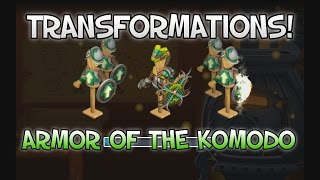 Knights and Dragons: Transformations! - Armor of the Komodo (Final Form)