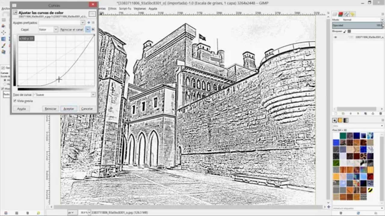 Transformar Foto En Dibujo Gimp Youtube Transformar Fotos En Dibujos Foto En Dibujo Fotos A Lapiz