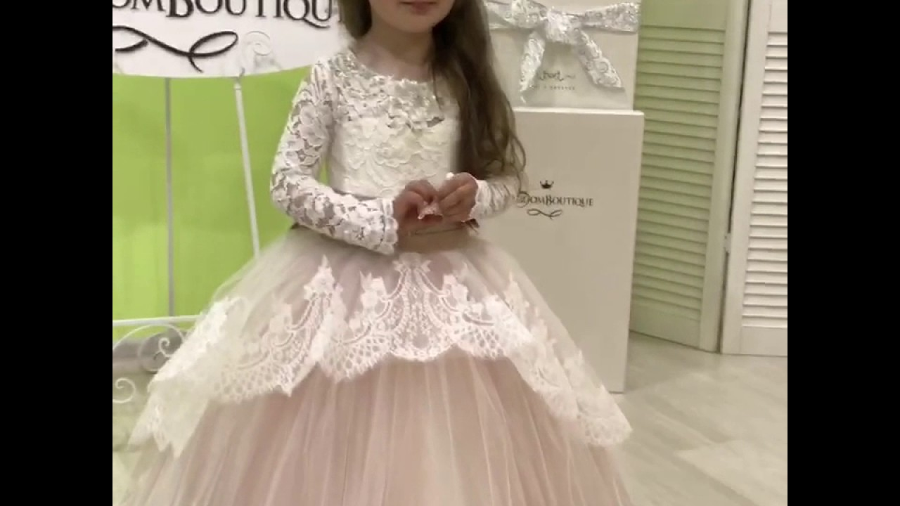 4e6f5f0b4f6 Princess dresses for special occasions by Kingdom.Boutique - YouTube