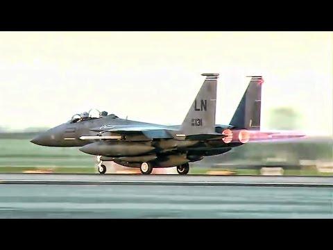 F-15 Strike Eagle Flight Operations • RAF Lakenheath
