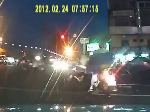 Creative Insurance Scam Involving Bicycle Taiwan