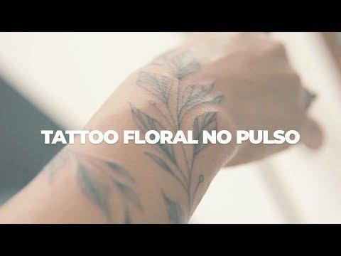 FAZENDO TATTOO FLORAL NO PULSO | Decohouse