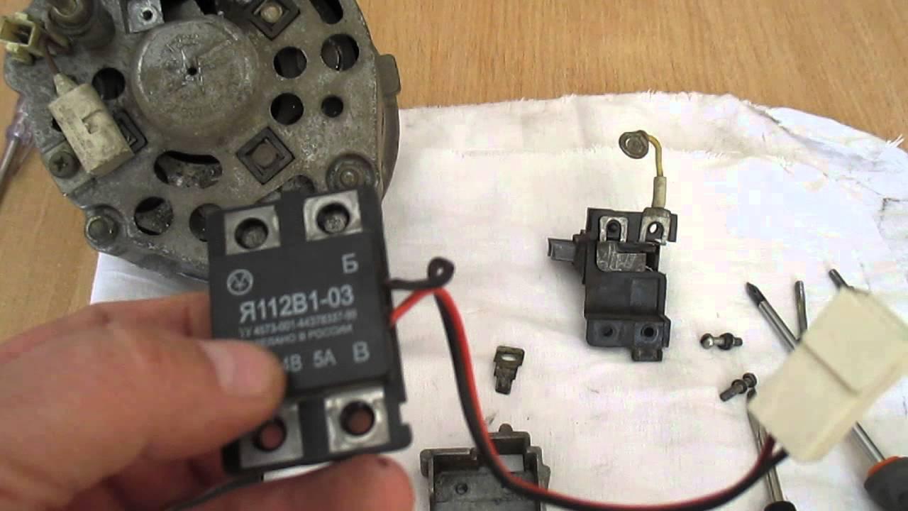 Как прозвонить генератор ВАЗ 2107 ВАЗ 2106 - YouTube