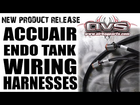AVS Endo Tank Wire Harness - YouTube Accuair Avs Wiring Diagram on
