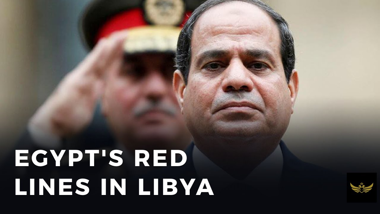Egypt's SISI draws RED LINES in Libya. Erdogan furious