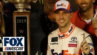 Winner's Weekend: Denny Hamlin and Chris Gabehart at Bristol Motor Speedway | NASCAR RACE HUB