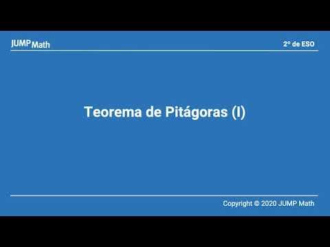 2. Unidad 4. Teorema de Pitágoras
