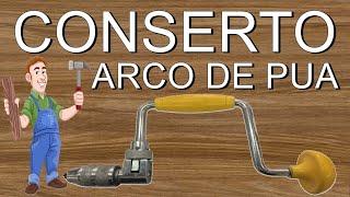 COMO FAZER RESTAURAÇÃO - RECUPERAÇÃO EM SUCATA, RECICLAGEM DE ARCO DE PUA / TOOL RESTAURATION