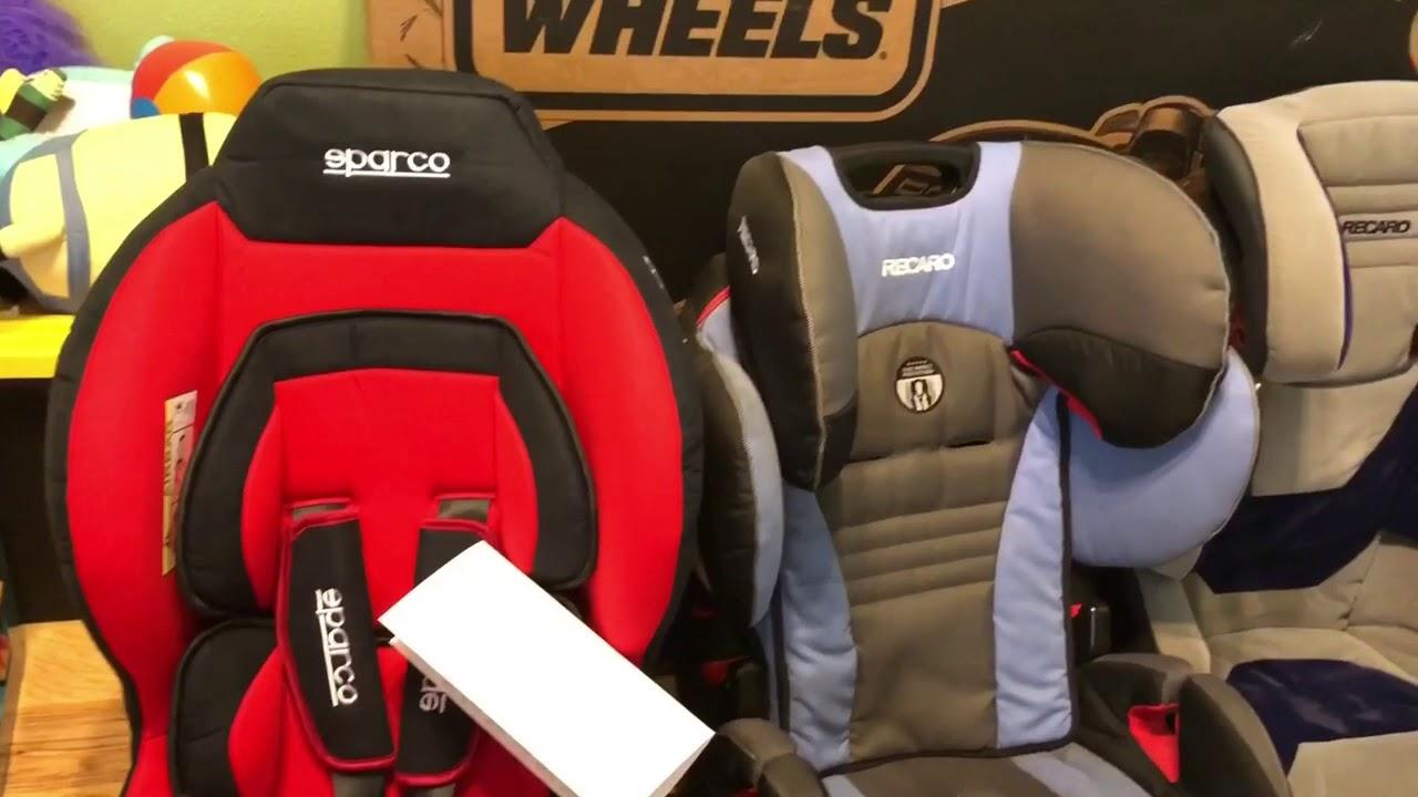 Sparco Red F5000K Baby Toddler Car Seat