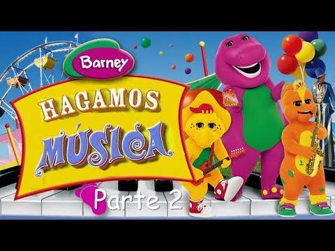 Barney - Hagamos Música (Spanish-Español) Parte 2