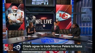 Chiefs Agree to Trade Marcus Peters to Rams | NFL Live | Feb 27, 2018