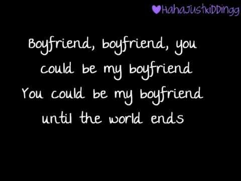 Boyfriend (cover) - Tiffany Alvord (Lyrics)