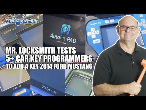 mr.-locksmith-tests-5+-car-key-programmers-on-2014-ford-mustang-|-mr.-locksmith™-video
