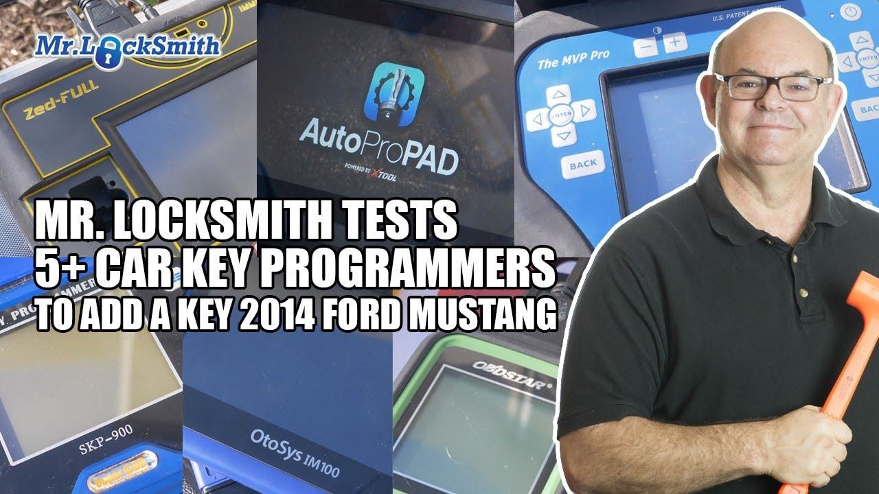 Mr Locksmith Tests 5 Car Key Programmers On 2014 Ford Mustang Mr Locksmith Video Youtube