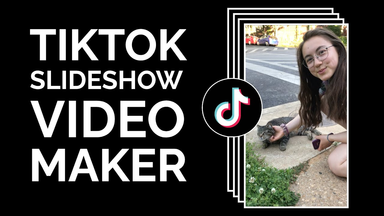 How To Make A Tiktok From Photos And Videos And Adjust The Timing 2021 Tiktok Slideshow Maker Youtube