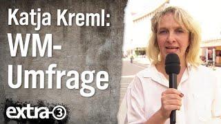 WM-Umfrage mit Katja Kreml