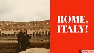 Rome, Italy!