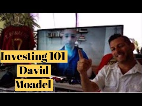 Investing for beginners | David Moadel